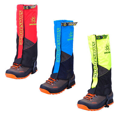 Outdoor Mountain Waterproof Snow Legging Gaiters Hiking Climbing Trekking 1 Pair