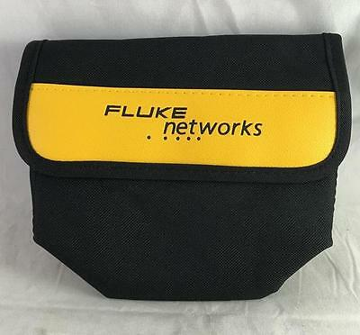 "NEW Fluke Networks Soft Pouch Case 7"" X 6 1/2"" With Belt Loop"