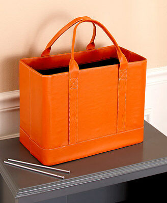 The Lakeside Collection Chic File Organizers - Orange