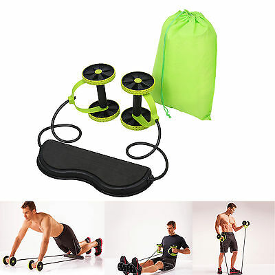Abdominal Exercise Wheel Roller Gym Fitness Machine Body Strength Training ABS