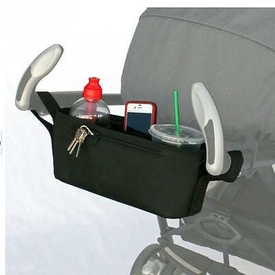 Universal Hanging Bag Organizer Car Storage Cup For Baby Buggy Stroller Trolley