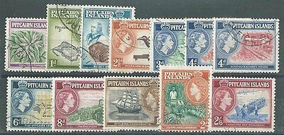 PITCAIRN 1957 Definitive set (both 4d) fine used...........................12392