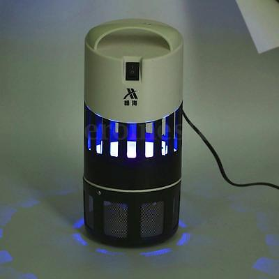 Electric UV LED Light Mosquito Killer Fly Bug Insect Moth Zapper Trap Lamp Home