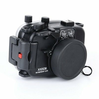 40M/130ft Underwater Housing Case Cover for Fuji X100S Camera Waterproof AU Ship