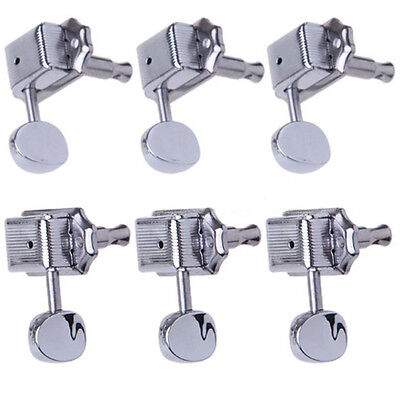 6R Inline Vintage Tuning Pegs Tuners Machine Heads For Fender Strat Guitar BEST