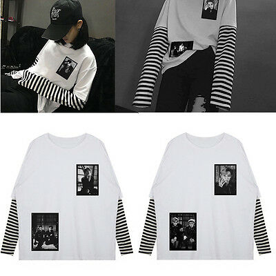 Kpop EXO Sweater Unisex Sweatershirt Hoodie Pullover EX'ACT Chanyeol SUHO Mantel
