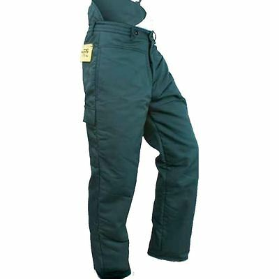 """Extra Large XL 40"""" - 42"""" Chainsaw Safety Trousers Type C All Round Protection"""