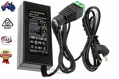 AU Plug to DC 12V 5A 60W Power Supply Adapter Charger for LED Strips Light