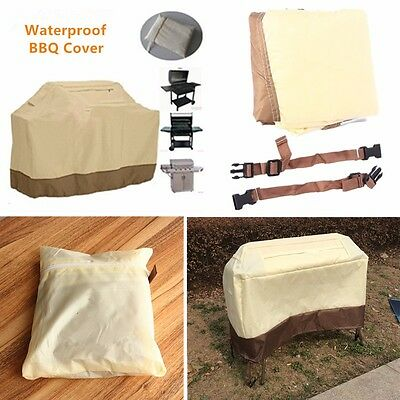 Premium Heavy Duty BBQ Cover Waterproof Barbecue Grill Smoker Protection