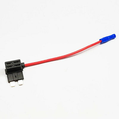 Add-A-Circuit Standard Blade Style ATM Fuse Holder Piggy Back 20A Car