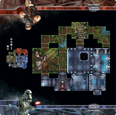 Star Wars Imperial Assault Training Ground Playmat