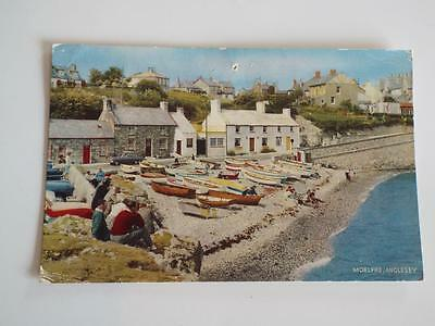MOELFRE ANGLESEY NORTH WALES - VINTAGE 1950's POSTCARD