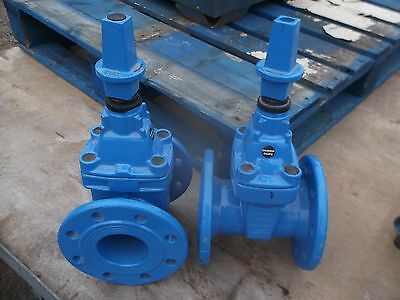 """Mains water gate valve 3"""" 80mm DN80 PN16 Tyco 2 available"""