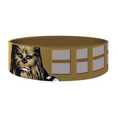 Official Licensed Product Star Wars Silicone Wristband Chewbacca Fan Gift New