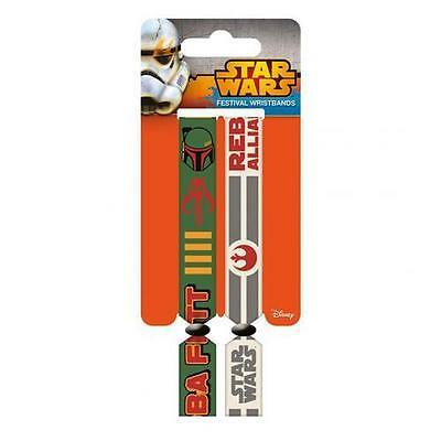 Official Licensed Product Star Wars Festival Wristbands Rebellion Fan Gift New