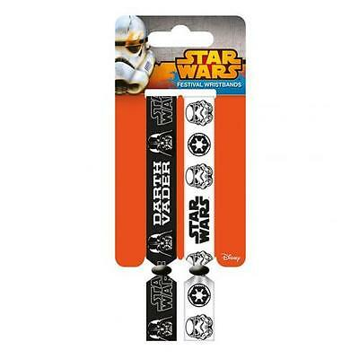 Star Wars Festival Wristbands Empire Darth Vader Gift Official Licensed Product