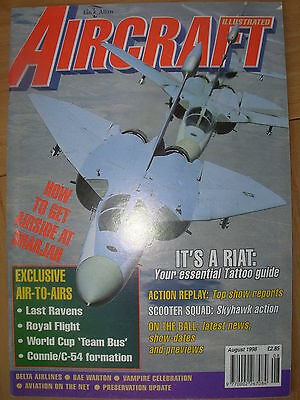 Aircraft Illustrated Magazine August 1998 Usaf Ef-111A