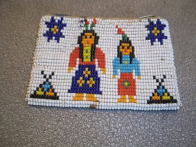 Native American Beaded Coin Purse # 5