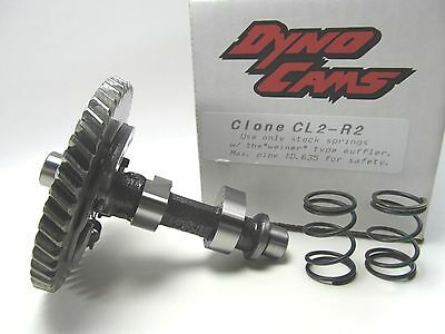 Dyno Cams CL2-R2 Camshaft and (2) BSH 10.8lb Springs - 2 Degrees Retard - Stock