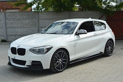 Cup Spoilerlippe BMW 1er F20 Lippe Spoiler Diffusor schwert M Performance Paket