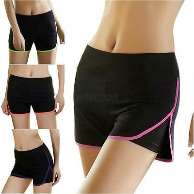 Womens Casual Sports Shorts Fitness Running Cycling Gym Yoga Workout Hot Pants