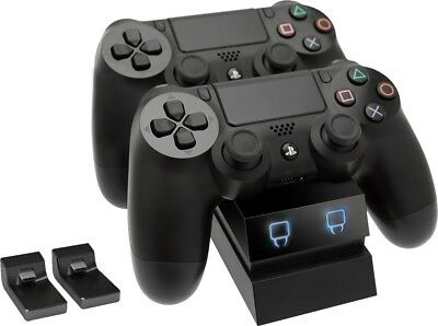 Venom Twin Docking Station für Playstation 4 - Ladestation für 2 PS4 Controller