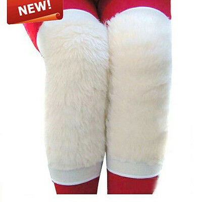 1Pair Warm Wool Kneepad Knee Support Protector Unisex Winter Knee Warmers