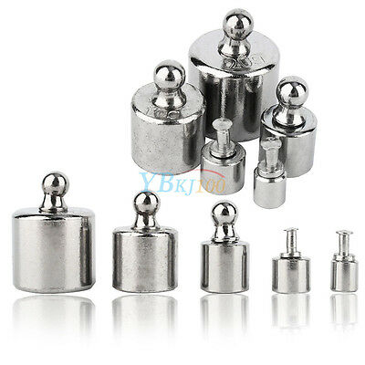 5Pcs 1g 2g 5g 10g 20g Grams Precision Calibration Scale Weight Test Set Kit New