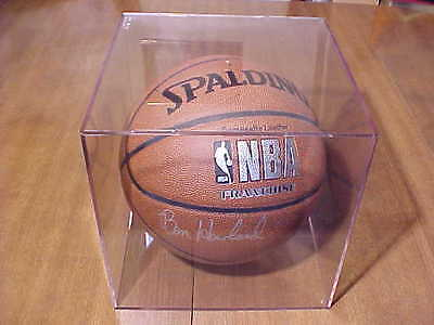 Ben Howland Autographed Nba Basketball Ucla Coach 2003-2013 In Case