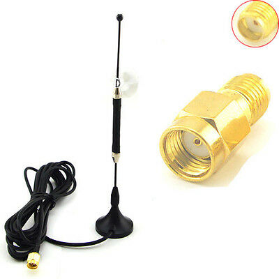 10dbi 4G Antenna SMA Male LTE Router Modem WIFI Antenna Aerial Coax Adapter Plug