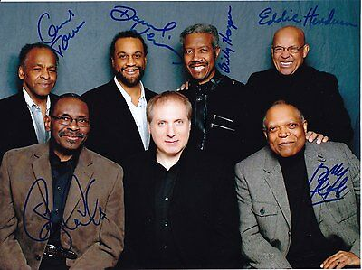 THE COOKERS Jazz legends supergroup RARE AMAZING IN PERSON SIGNED