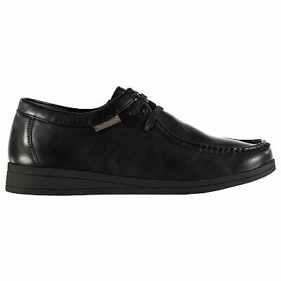 Ben Sherman Mens Gents Quad Wallabee Shoes Laces Fastened Moccasin Footwear