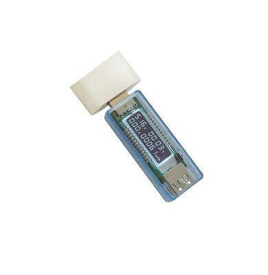 1PCS USB Charger Doctor Capacity Time Current Voltage Detector Meter Battery Tes