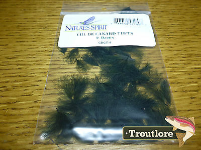 Natures Spirit Baetis Cul De Canard Oiler Tufts Cdc - New Fly Tying Feathers