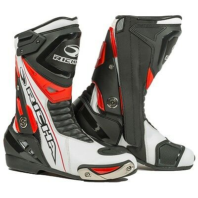 Richa Blade WP Sports Waterproof Motorcycle Boots - Red