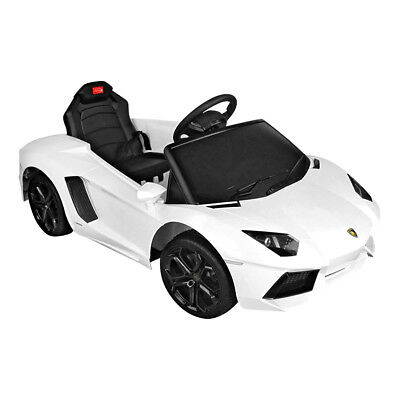 Lamborghini Aventador Rastar Licensed 6V Ride On Electric Remote Car White