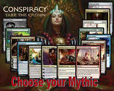 MTG Conspiracy Take the Crown CN2 - Choose your  Mythic - M- Free 1st Class Post