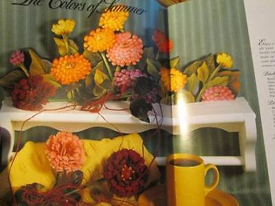 An Old-Fashioned Garden Painting Book #4 Nuttall-Violets/Zinnias/Fruit/Daisies/G