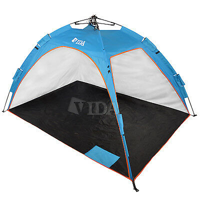 Contemporary BEACH TENT SUN Water Resistant Pop up Outdoor Canopy Shelter Oxford Fabric $49 00 New - Fresh sunwater Picture