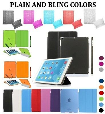 Ayrah® New Smart Stand Leather Magnetic Case Cover Wake For Apple iPad Models