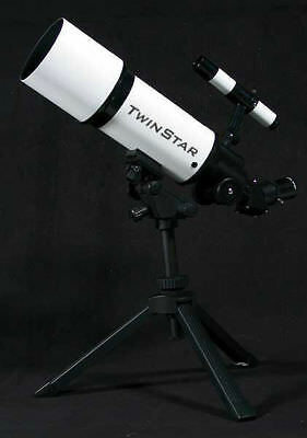 New White 16-40 x 80mm Telescope with Tripod w Mount