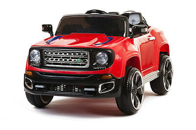 2 Seater Ride On Off Roader with Opening Doors - Red