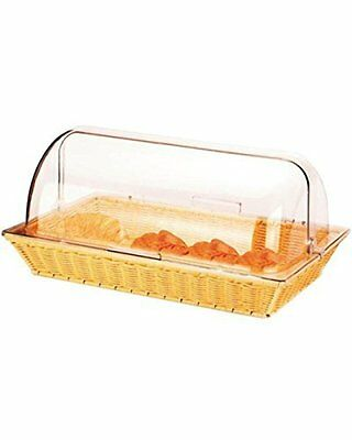 Rectangular Basket With Roll Top Cover