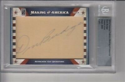2014 Famous Fabrics Making Of America Don Budge Auto 1/1