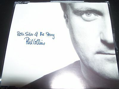 Phil Collins Both Sides Of The Story EU Promo CD Single