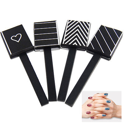 ET  4 Stuck Patterns Magnetic Nail Art Magnet Rods Zur Verwendung mit Magnet