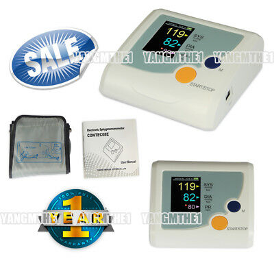 Easy to operate Blood pressure monitor,optional language interface,CONTEC08E