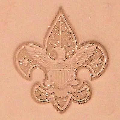 Boy Scout Emblem Leather Stamping Tool 8518-00