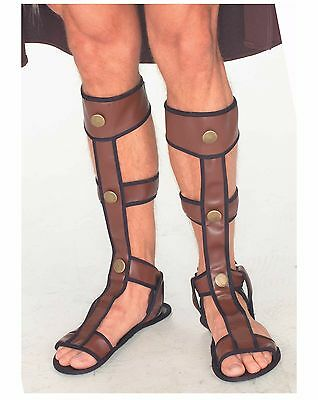 Gladiator Roman Greek Sandals Costume Accessory, One Size