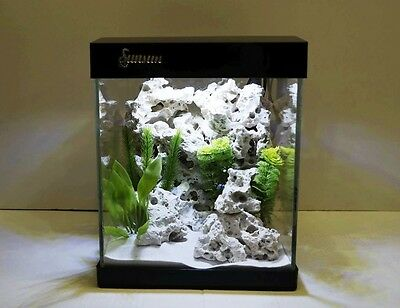 Nano Aquarium G-25 en noir Aquarium complet Mini- +LED éclairage